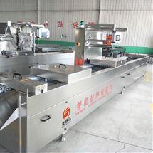 DZ-520康盛达生产阿胶糕连续拉伸膜真空包装机