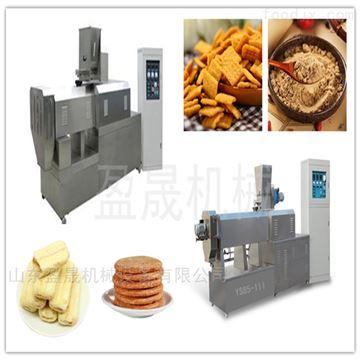 ys65-lll双螺杆全自动食品膨化机