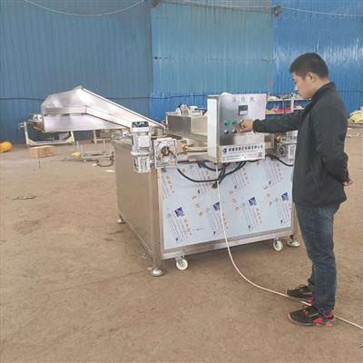 800自動控溫五花肉油炸鍋流水線