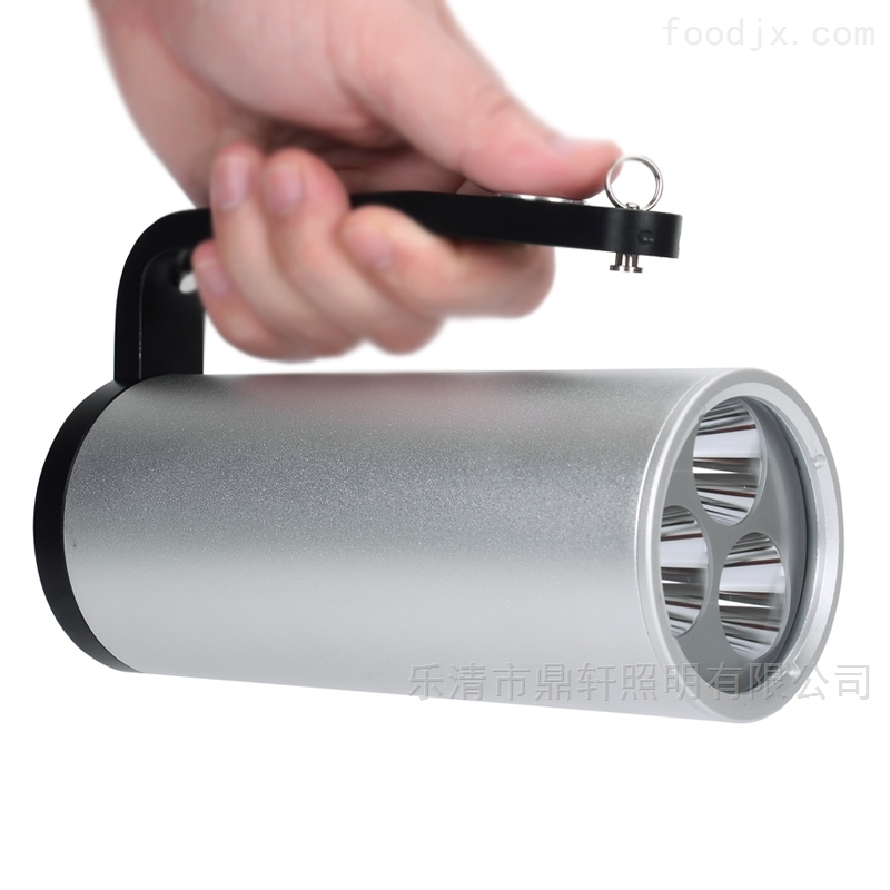 鼎轩照明LED强光应急手提式防爆探照灯3*3W