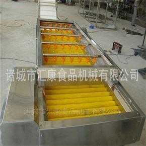 平行毛辊除杂清洗机用于果蔬加工设备