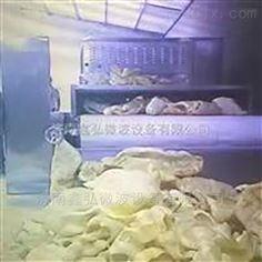 鱼皮微波烘干设备 微波膨化