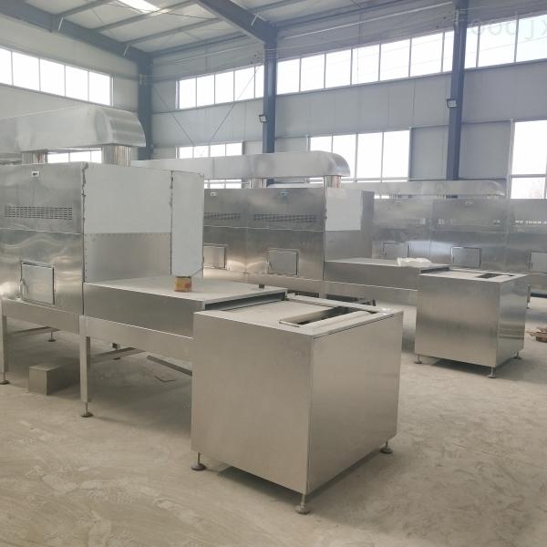 化工原料高温烧结隧道炉,化工原料烧结烘干设备