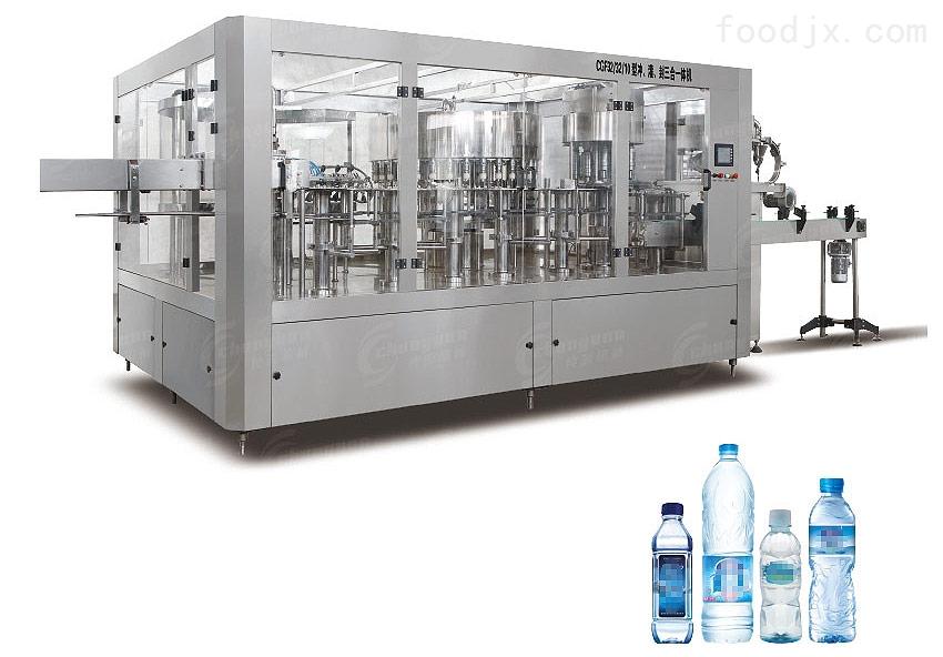 纯源小瓶纯净水灌装生产线