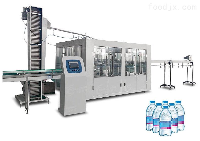 不锈钢饮料生产线~果茶饮料三合一灌装机