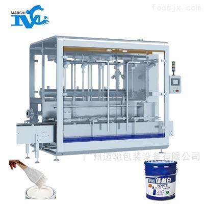 乳胶漆自动灌装机