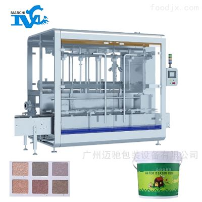 水性硅藻泥灌装机