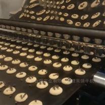 全自动钢带曲奇饼干生产线