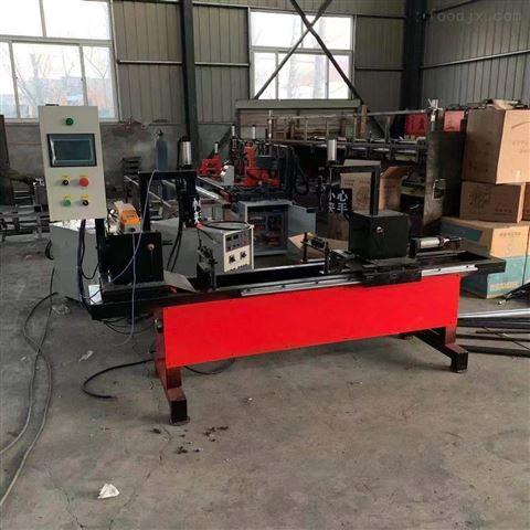 全自动轮扣式横杆自动焊接机工作效率特点