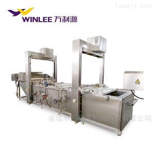 WLYZZ-6000连续式果蔬漂烫机肉类蒸煮机