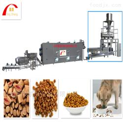 YS65-II龙猫饲料生产线饲料膨化机