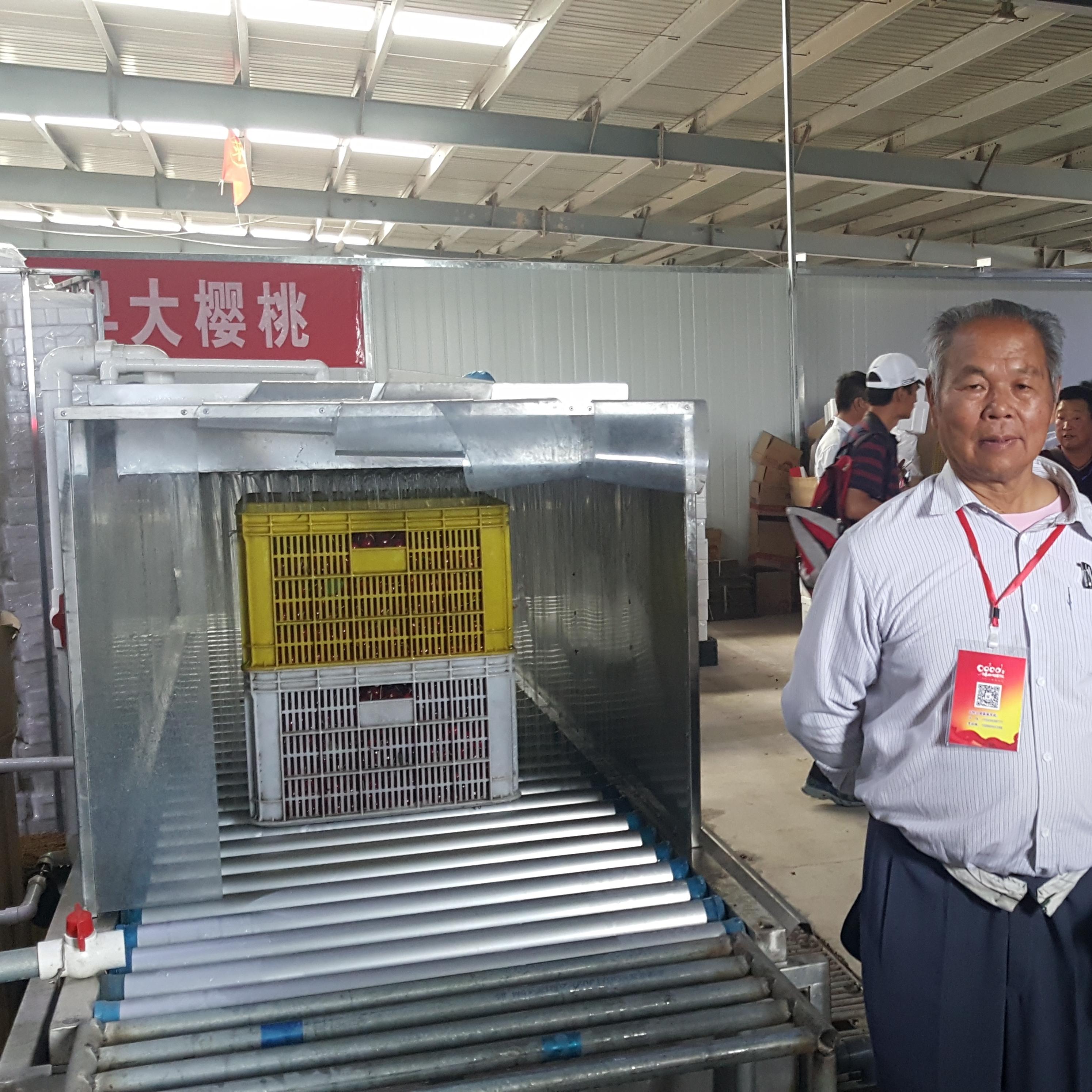北京西集大樱桃预冷机设备 保鲜预冷装置
