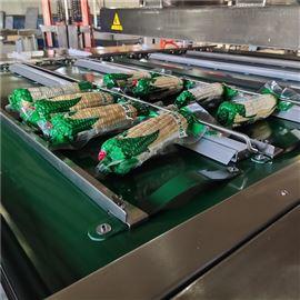 不锈钢玉米包装真空机包装玉米流水线