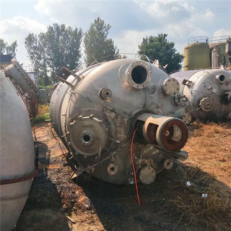 二手3吨不锈钢反应釜