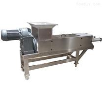 葡萄单螺旋压榨取汁机