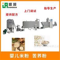 TSE65膨化黑芝麻糊生产设备  营养粉生产线
