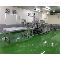 WTK-DC-QX韭菜、香葱、大葱专用清洗机