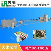 EXT100吸管设备盛润可降解吸管生产设备   单螺杆膨化机
