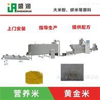 TSE70营养米生产设备  双螺杆碎米变整米设备