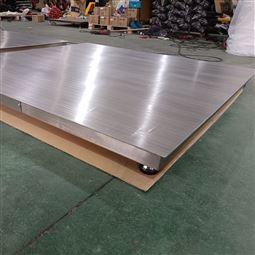 可水冲洗电子地磅 食品厂1吨不锈钢平台秤
