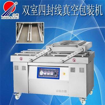 DZ-600/2S高效率四封线真空包装机