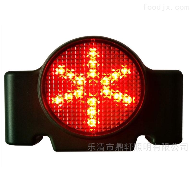铁路障碍远程方位灯红色警示灯磁力吸附3.7V