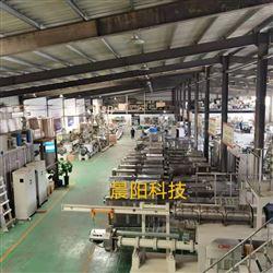 CY70膨化油炸面食机械生产线