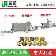 EXT100盛润机械膨化面食通心粉生产设备线
