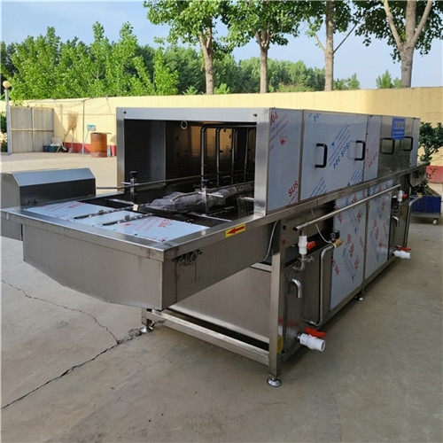 食品车间生产用周转筐全自动洗筐机