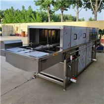 量体定做食品车间生产用周转筐全自动洗筐机