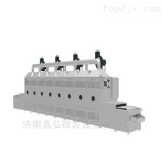 XH-30KW隧道式秋葵微波杀青设备