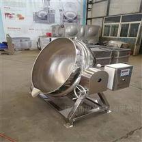 倾式蒸汽蒸煮锅价格鸡汤熬制夹层锅供应厂家