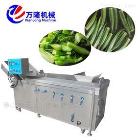 PT-22高效清洗菠菜白菜豇豆连续式漂烫机
