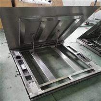 DCS-HT-A可翻开冲洗不锈钢地磅 食品厂1吨防水平台秤