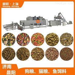 CY75膨化机狗粮食品生产线   水产饲料鱼饲料膨化设备
