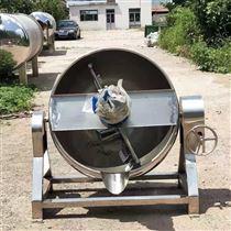 400L厂家生产蒸汽加热搅拌式可倾夹层锅