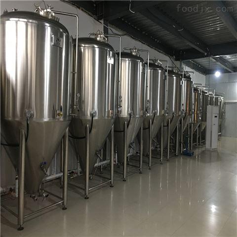 青岛日产5吨大型啤酒厂设备
