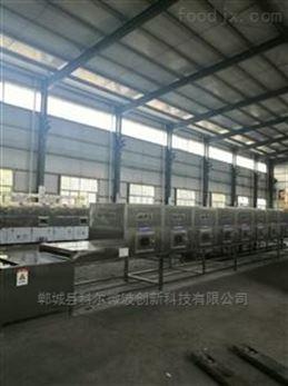 河南科尔100KW微波黄豆烘烤膨化设备