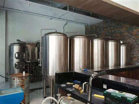 小型啤酒生产设备  自酿啤酒设备