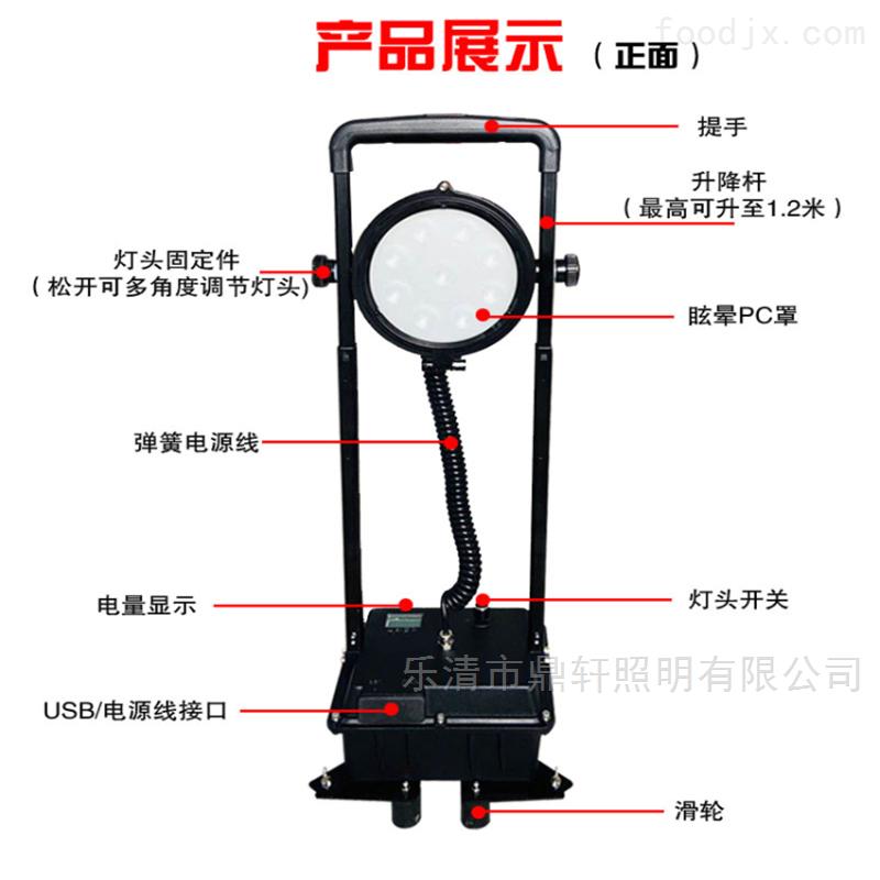 尚为同款LED防爆升降泛光工作灯30W防汛应急