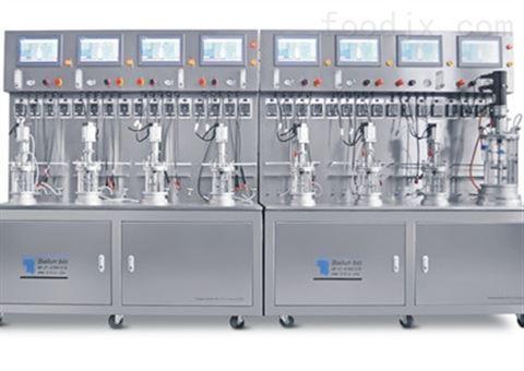 八联体玻璃生物反应器