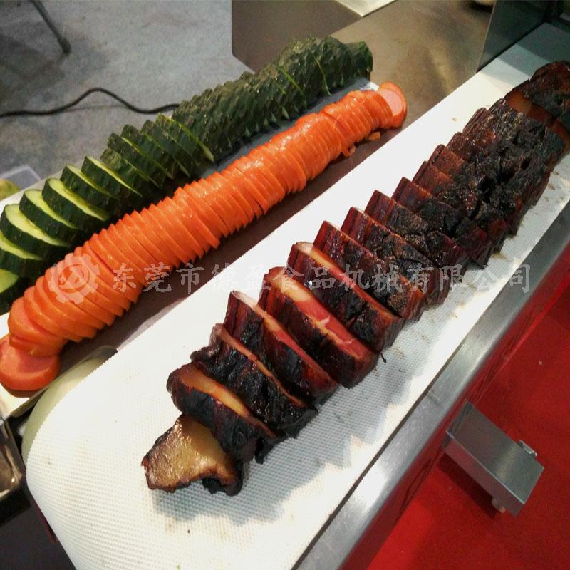 蔬菜肉类切片效果