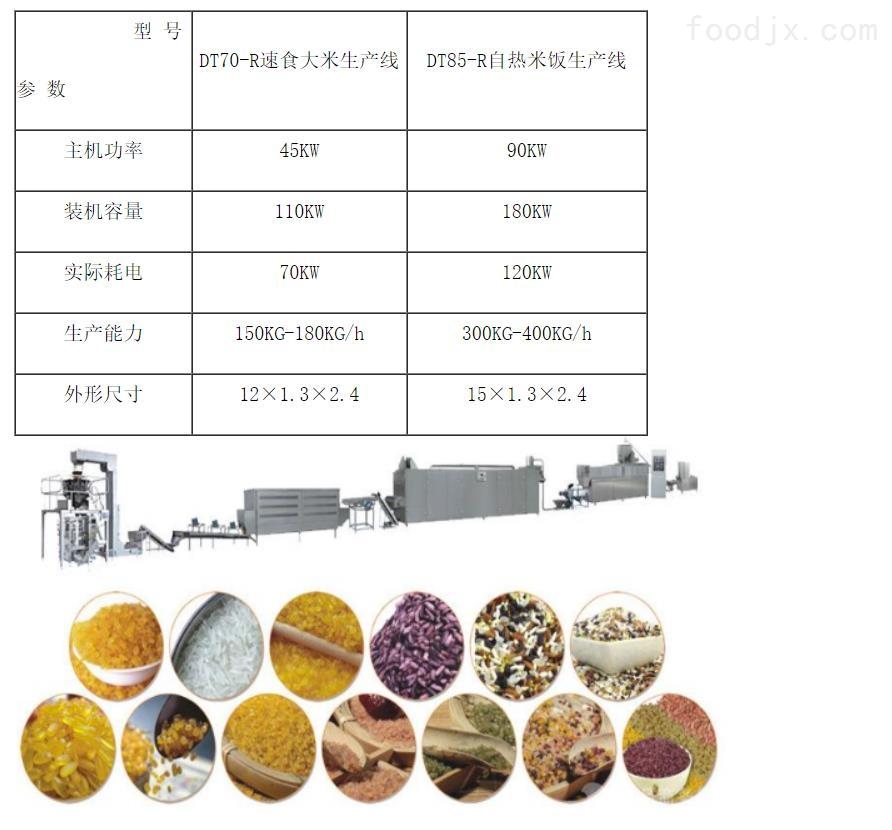 自热米饭米膨化机