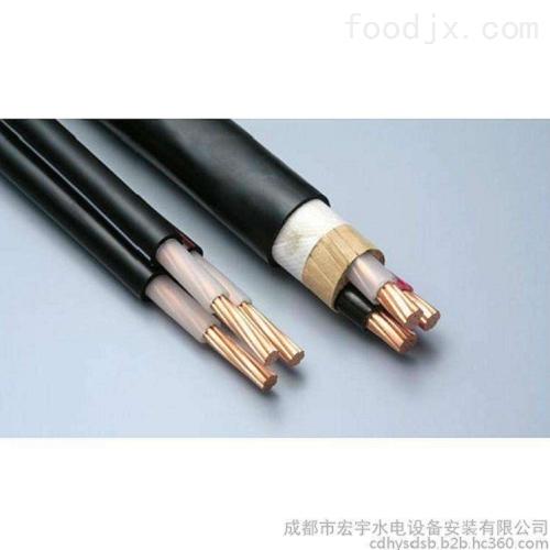 老河口市耐低温硅橡胶电缆JHXG-1*4*1.5