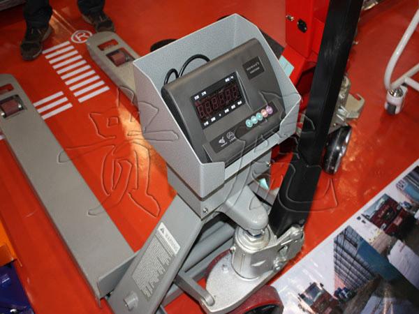 3吨电子叉车秤 带打印电子叉车秤多少钱