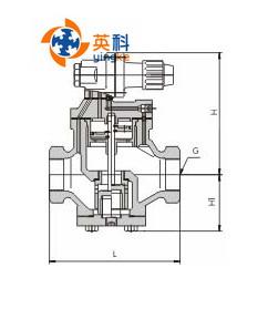 内螺纹连接高灵敏度蒸汽减压阀