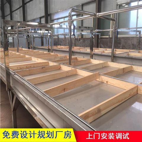 小型半自动手工腐竹机生产线设备